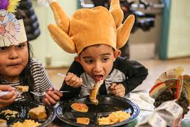 thanksgiving center mission education center students celebrate thanksgiving by