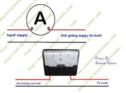 ampere meter wiring for dc and ac in urdu hindi electrical