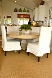 chair slipcovers with arms wooden cover plus black square table as