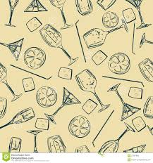 retro martini drawing photo collection martini glass pattern wallpaper