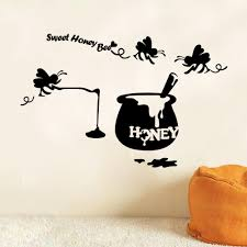 nice honey bee kitchen decor sweet honey bee wall decals home nice honey bee kitchen decor sweet honey bee wall decals home decor wall sticker living room
