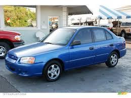 2002 hyundai accent sedan 2002 coastal blue hyundai accent gl sedan 47190366 gtcarlot com