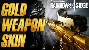 Buy Rainbow Six Siege Gold How To Buy Gold Guns Gold Camo Rainbow Six Siege