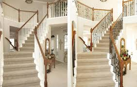 Replace Banister With Half Wall Banister Replacement Best 25 Banister Remodel Ideas On Pinterest
