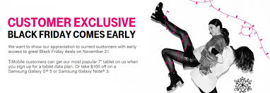 t mobile early black friday 2014 deals samsung galaxy s5 galaxy
