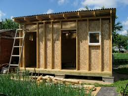 How To Build A Small Garden Tool Shed by How To Build A Slanted Shed Roof Without A Lot Of Effort