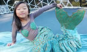 Mermaid Halloween Costumes Kids Announcing Inhabitots Green Halloween Costume Contest Winners
