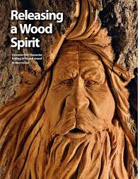 168 best wood spirit carving images on carved wood