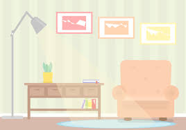 home interior vector free living room vector free vector stock graphics