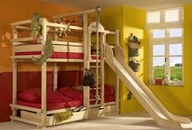 More Bunk Beds Bedrooms Make The Bunk Beds A Lot More With A Slide 50
