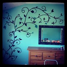 hand painted wall design my work pinterest hand painted