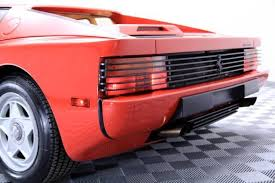 testarossa maintenance 1986 testarossa cars for sale