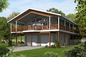 Wrap Around House Plans by Northwest House Plan With Splendid Wrap Around Porch 35512gh