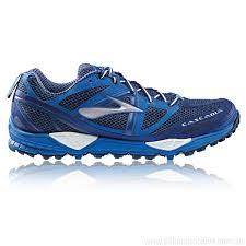 light trail running shoes discount price blue brooks cascadia 9 trail running mens running