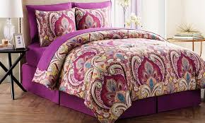 Bedroom Sheets And Comforter Sets 62 Off On Alexa Comforter Set 6 Or 8 Pc Groupon Goods