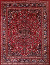 10 X12 Area Rug Mashad Persian Area Rug