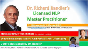 Nlp Certified Master Practitioner Workshop Cosens Consultancy Master Practitioner Course India Cosens