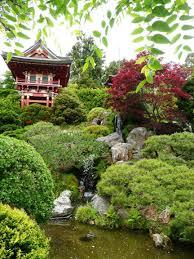 Botanical Gardens Golden Gate Park by The Japanese Tea Garden In San Francisco