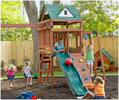backyards trendy landscaping ideas backyard playground gardening