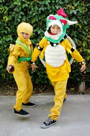 halloween costumes 2013 bowser and the gold ninja hideous