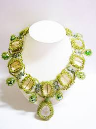fashion jewelry statement necklace images Colour me beautiful statement necklace thai fashion jewelry JPG