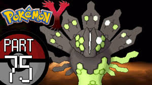 Pokemon X And Y Map Pokemon X And Y Part 75 Terminus Cave Catching The Legendary