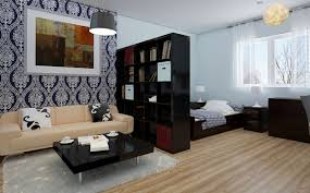 Small Studio Decorating Ideas Fiorentinoscucinacom - One bedroom apartment design ideas