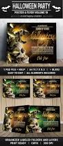 halloween party poster flyer v10 flyers wordpress themes
