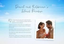 wedding gift list exle honeymoon funds and wedding gift lists buy our honeymoon
