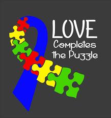 puzzle clipart autism blue pencil and in color puzzle clipart