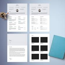 Free Cool Resume Templates Free Classy Resume Template Free Design Resources