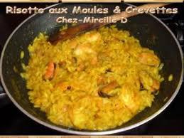 comment cuisiner des moules surgel馥s risotto aux moules et aux crevettes par chez mireille d