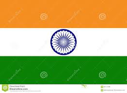 indian flag flat layout illustration stock vector image 94111358
