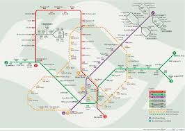 Shanghai Metro Map by Metro Map Singapore U2022