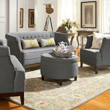 Home Decorators Collection Review by Home Decorators Collection Mayfair Classic Smoke Twill Fabric Sofa