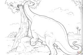 brachiosaurus dinosaur coloring page free printable coloring pages