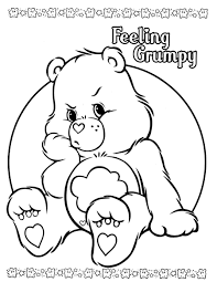 perfect care bear coloring pages 57 coloring kids care