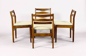 Mid Century Modern Dining Chairs Vintage Furniture Danish Vintage Mid Century Teak Dining Chairs With