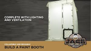 how to build a photo booth build a collapsible pvc paint booth