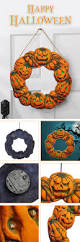 halloween spooky wreath door hanger hanging prop home decor led