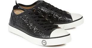 ugg sale liverpool ugg black evera black glittered leather trainers product 1 19301892 2 663831847 normal jpeg