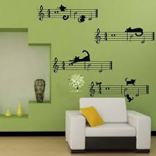 Musical Note Decorations Best 25 Music Wall Decor Ideas On Pinterest Decorative Wall