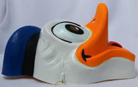 vintage walt disney donald duck halloween mask cesar costumes