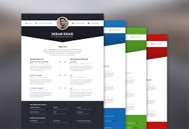 Resume Template Psd 59 Free Professional Cv Resume Templates Psd Graphiceat