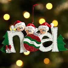 noel family ornament ornament clay and polymers