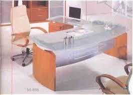 Modern Glass Executive Desk Modern Executive Glass Top Desk On Sale Now For Half Price