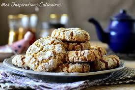 hervé cuisine cookies ghriba aux cacahuètes et noix de coco le cuisine de samar