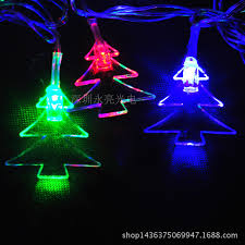 christmas tree shaped lights 5m 28led christmas tree shape string lights with eu plug ac100 240v