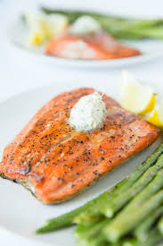pan seared salmon with dill butter u2014 tastes lovely