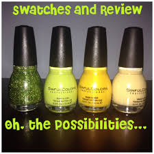 sinful colors nail polish haul live swatches and review youtube